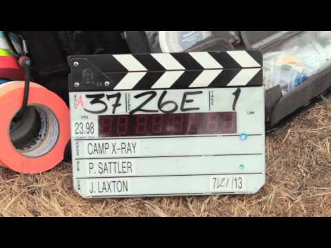 Making of 'Camp X-Ray' - Full video