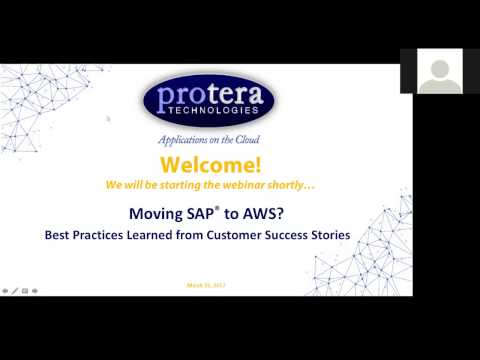 Moving SAP® to AWS? Best Practices Learned from Customer Success Stories