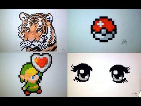 Fun Compilation of 10 pixel Art !