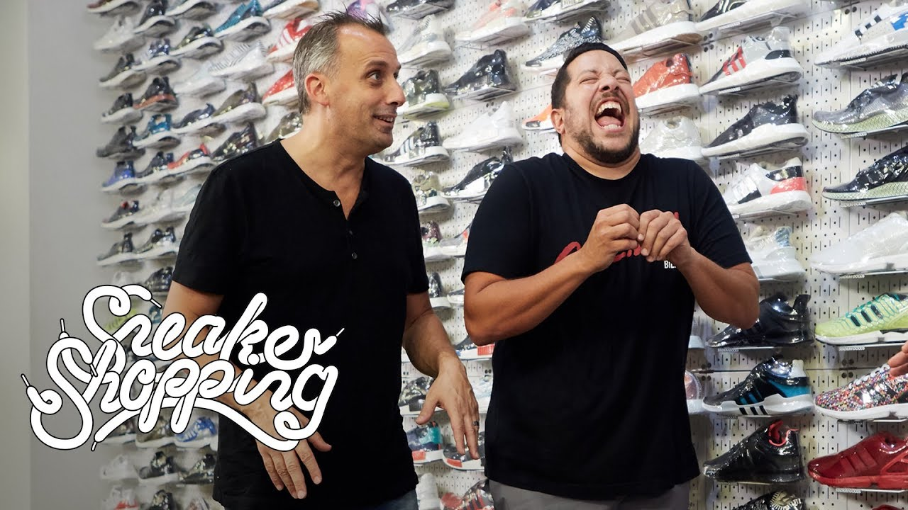 a975b5a4aff05f Impractical Jokers Go Sneaker Shopping With Complex - YouTube