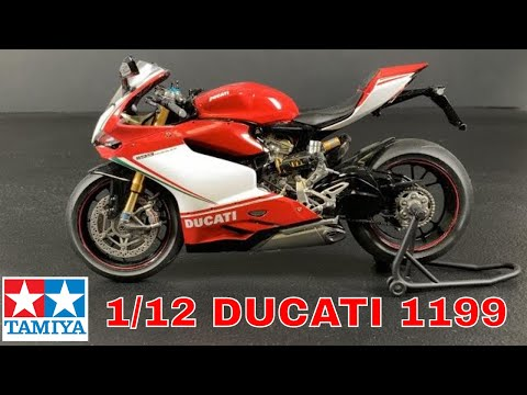 Building the Tamiya 1/12 Ducati 1199 Panigale S  motorcycle