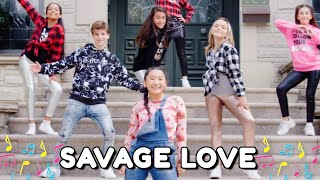 Savage Love - Jason Derulo [Official Music Video] | Mini Pop Kids Cover