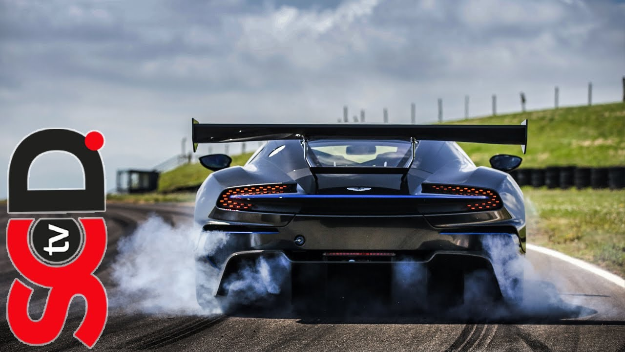 Aston Martin Vulcan On The Limit Anglesey Youtube