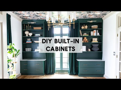 Easy Built-In Cabinets (How To For Beginners)
