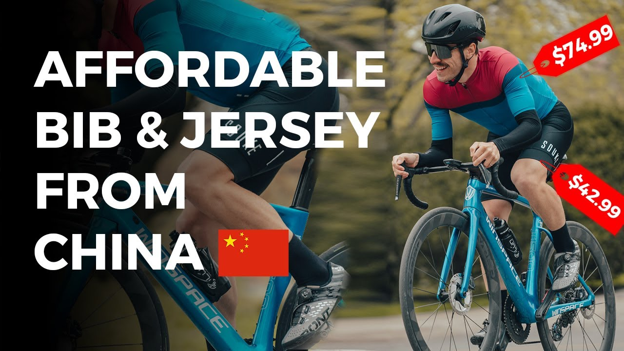 I Tested CHINESE Cycling Clothing So You Don't Have To... SOUKE REVIEW