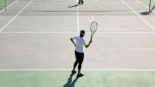 Marina Davtyan College Tennis Recruiting Video Fall 2018