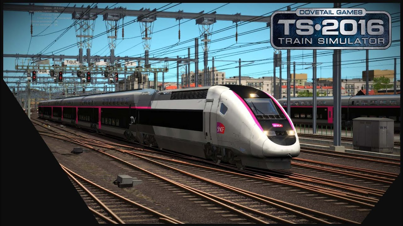 train simulator 2016 lgv med marseille avignon tgv carmillon youtube. Black Bedroom Furniture Sets. Home Design Ideas