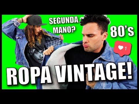 COMPRANDO ROPA VINTAGE (SEGUNDA MANO!)