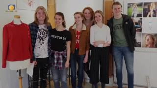 2017 week 11 - Expositie Coornhert Gymnasium