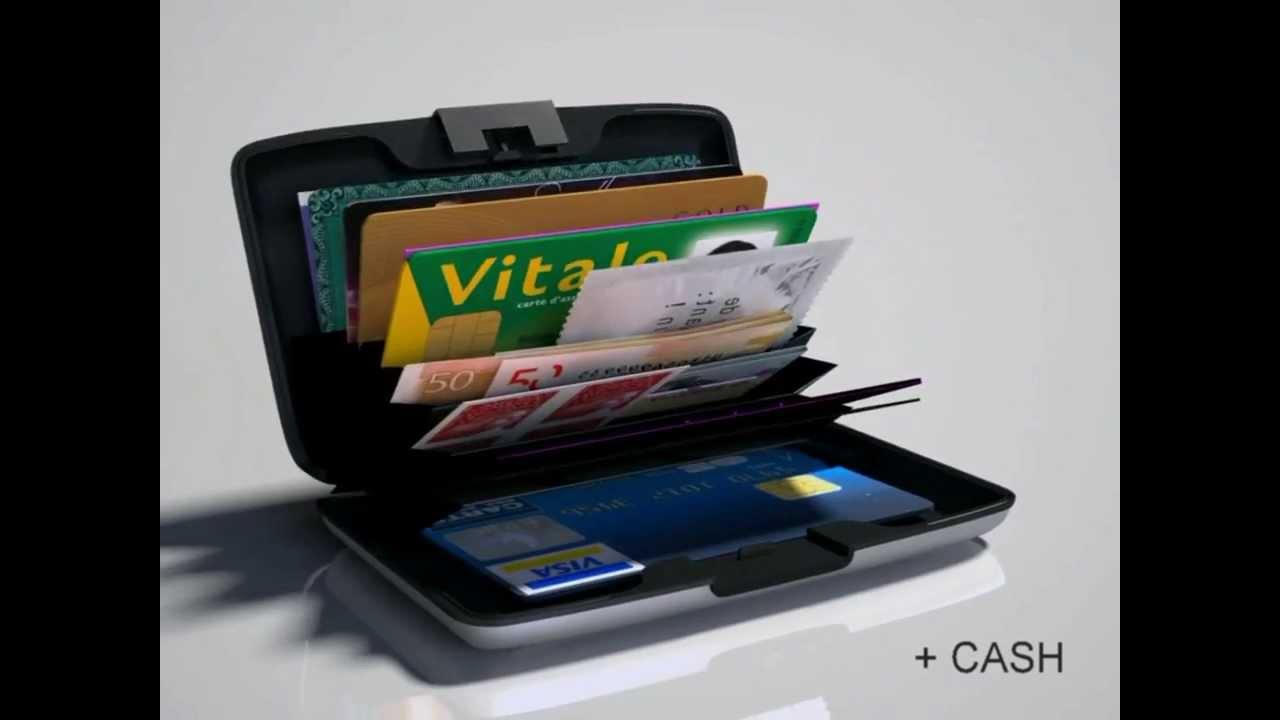 STOCKHOLM Aluminium Card Case Porte Cartes OGON DESIGNS 43