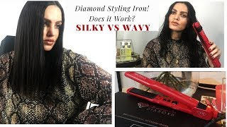 Irresistible Me Flat Iron Review: Does it work? Review & Demo