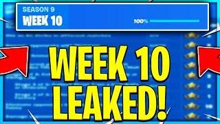 FORTNITE SEASON 9 WEEK 10 CHALLENGES LEAKED! WEEK 10 ALL CHALLENGES EASY GUIDE! Fortnite Challenges