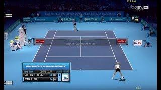 Edberg vs Lendl | RR (R2) Barclays WTF 1990 | Légendes Ép.17 Tennis Elbow 2013