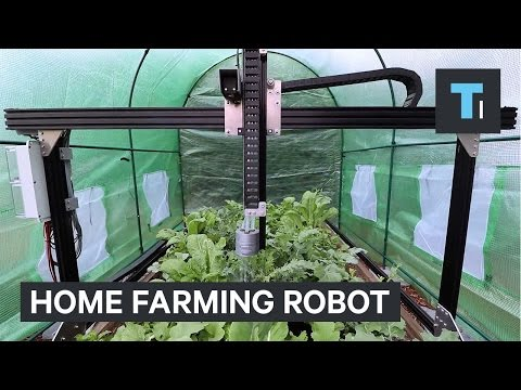 Home farming robot