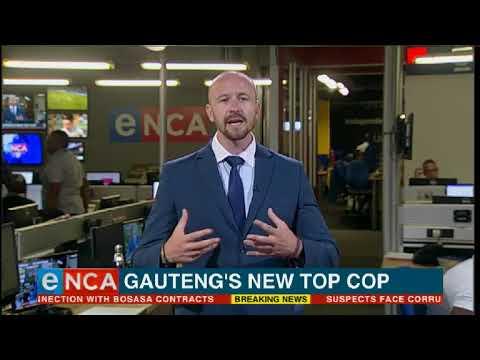 Gauteng's new top cop