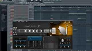 FL Studio - Гитара. Красивая гитарная музыка 2 (демо трек) Guitar music