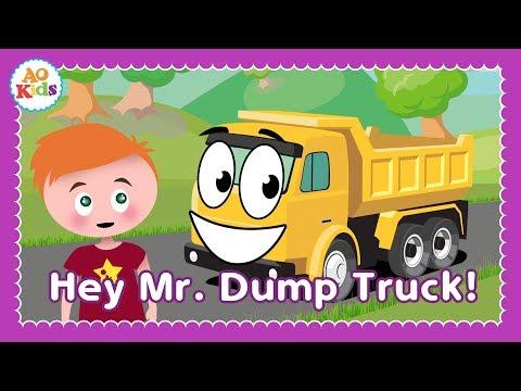 Hey Mr. Dump Truck! | Kids Sing-Along Song