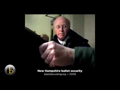 New Hampshire's SoS, Bill Gardner And Unsecure NH Ballots.