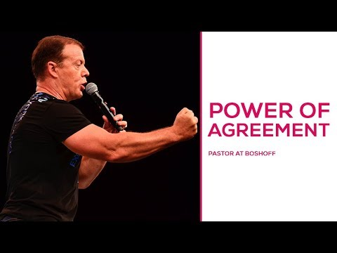 Power of Agreement | Pastor At Boshoff | 11 March 2018 PM