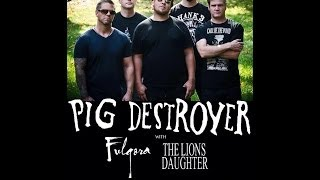 Pig Destroyer || LIVE || FULL SET || Fubar || St. Louis, MO || 5/16/2014 || MULTI-ANGLE || HD