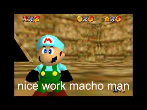 Super mario 64 bloopers: hide and seek