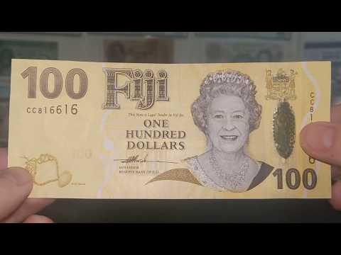 Fijian Dollars QE2 Series