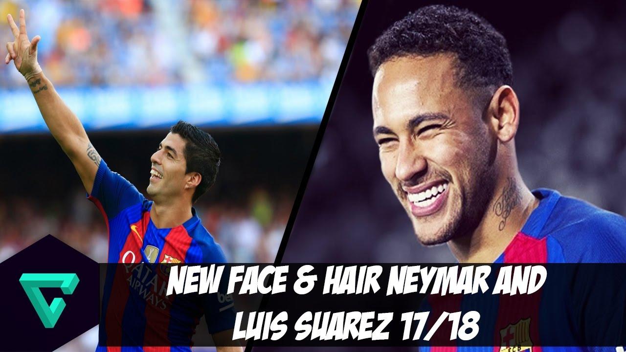 نتيجة بحث الصور عن - Face & Hair Neymar Jr and L.Suarez + Instalación (PES 2017)