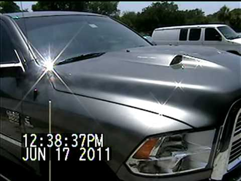 Suncoast Creations Dodge Ram Extractor Hood Youtube