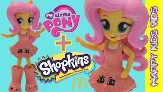 Custom My Little Pony Fluttershy Shopkins Judy Jumper Jennifer Rayne