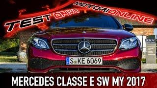 Mercedes Classe E SW MY 2017 | Test drive in anteprima, pregi e difetti