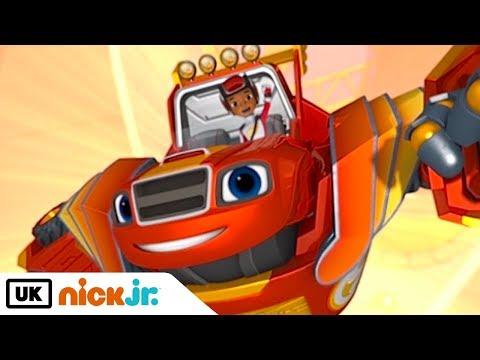 Blaze and the Monster Machines | Robot Power | Nick Jr. UK