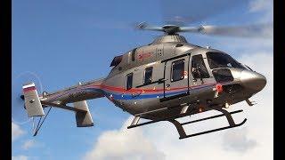 Вертолет Ансат - запуск-взлет-2 посадки