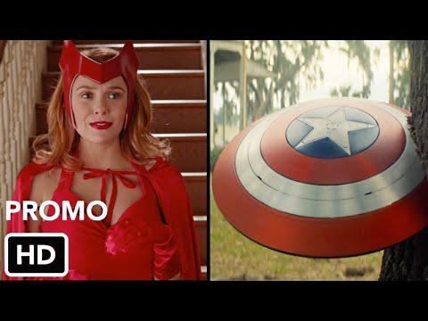 Сокол и Зимний Солдат, WandaVision и Локи (2020) Промо Disney+