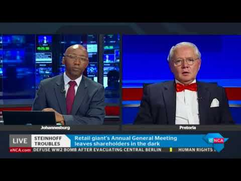 Steinhoff has resumed its Annual General Meeting