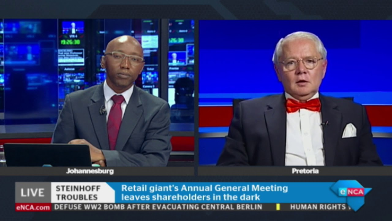 Steinhoff has resumed its Annual General Meeting - YouTube 398d768c7