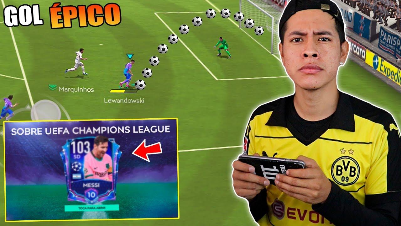 ME SALIÓ ESTE JUGADOR EN MI REGRESO al FIFA MOBILE 😱 *EPICO GOL en CHAMPIONS*