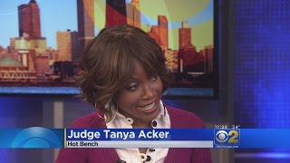CBS 2 Catches Up With Hot Bench's Judge Acker.