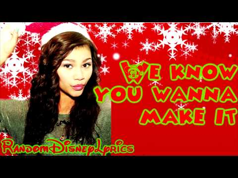 Zendaya - Shake Santa Shake - Lyrics On Screen