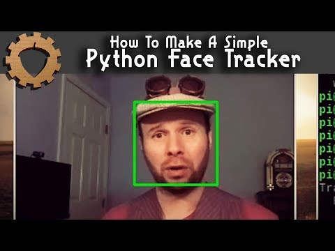 Simple Python Face Tracker - Weekend Hacker #1806