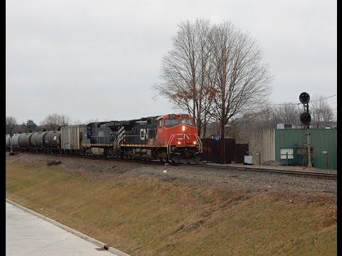 Railfan CSX River Line at CP22 saw K652 with CN & BC Rail