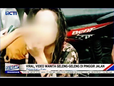 VIRAL! Video Wanita Geleng-geleng Diduga Konsumsi Narkoba di Pinggir Jalan - Sergap 04/01