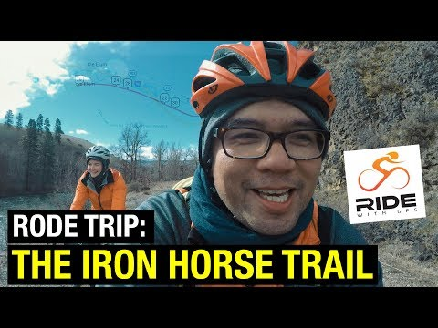 Rode Trip: Iron Horse Trail (50 Miles of Gravel from Ellensburg to Cle Elum and back)