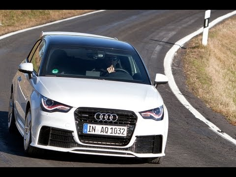 Audi A1 Quattro roadtest (English subtitled)