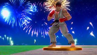 Super Smash Bros. for Wii U - Classic Mode - Ryu (9.0 Intensity)