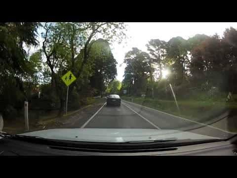 Driving from Kalorama to Ferntree Gully