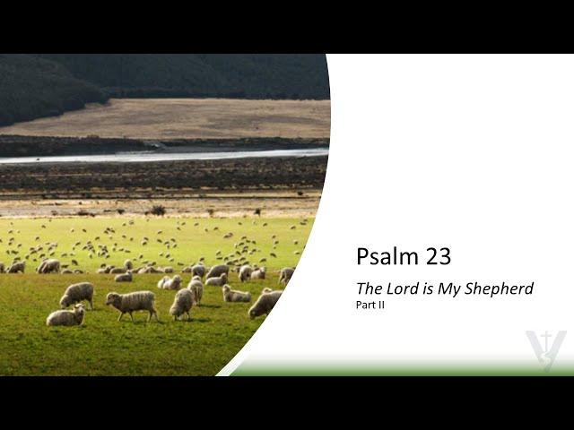 Psalm 23, Part 2 · 210704 11 AM · Brother Ross Kilfoyle