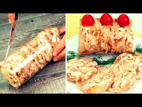 une-recette-super-délicieuse,-naturelle-et-très-facile-à-préparer-!-poulet-en-gelée.-│savoureux.tv