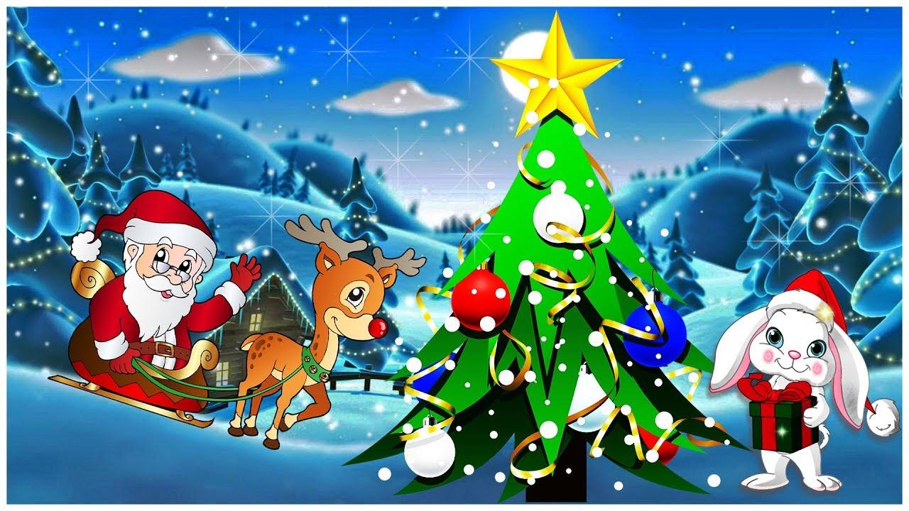 В лесу родилась Елочка 🎄🎄🎄 Детская Новогодняя песня ☃️🤶 ️ ...