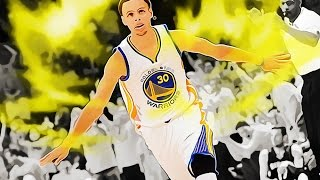 Steph goes Super Saiyan on Clippers