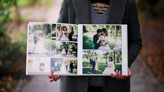 Свадебная фотокнига | Wedding Photobook 30х30